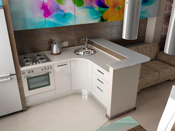 дизайн кухни фото 5 кв метров фото